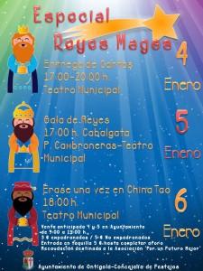 Programación para festejar Reyes 2016
