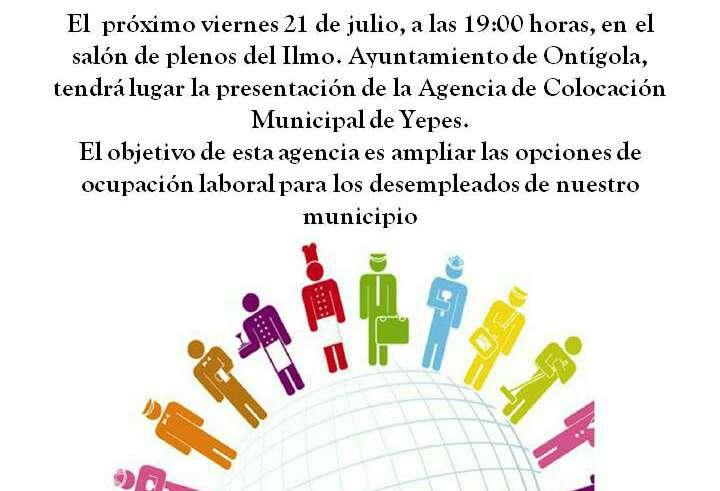 Presentaci n de la agencia de colocaci n de empleo for Busco trabajo en aranjuez