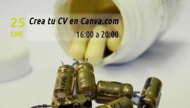 Cartel Píldoras NTIC: Crea tu CV del Ayuntamiento de Ontígola