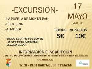 Excursión cultural a la Puebla, Escalona y Almorox organizada por la Asociación de pensionistas de Ontígola