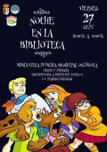 La noche en la Biblioteca es una actividad cargada de juegos, risas, carreras organizada por la Biblioteca y el CIJ del Ayuntamiento de Ontígola