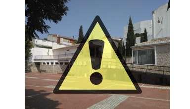 Cartel de aviso